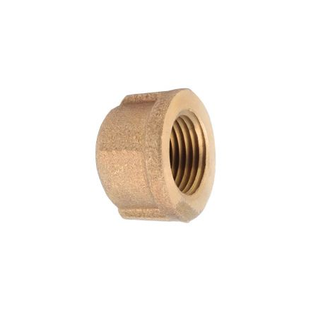 Interstate Pneumatics 5318082 3/8 Inch Brass Cap