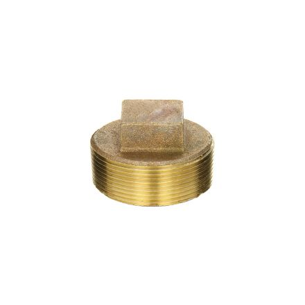 Interstate Pneumatics 5318096 1-1/2 Inch Brass Plug