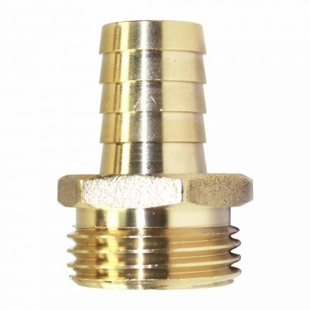 Interstate Pneumatics FGM310 3/4 Inch GHT Male x 5/8 Inch Barb Hose Fitting