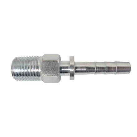 """Interstate Pneumatics FM44RL 1/4"""" MPT Special Steel Fitting"""
