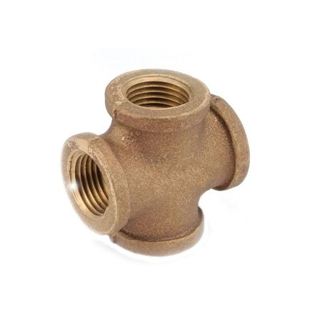 Interstate Pneumatics 5318006 3/4 Inch Brass Tee