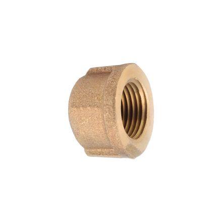 Interstate Pneumatics 5318085 1 Inch Brass Cap