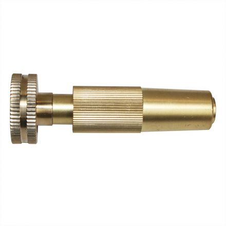 Interstate Pneumatics FGN23 4 Inch GHT Cross Pattern Brass Nozzle