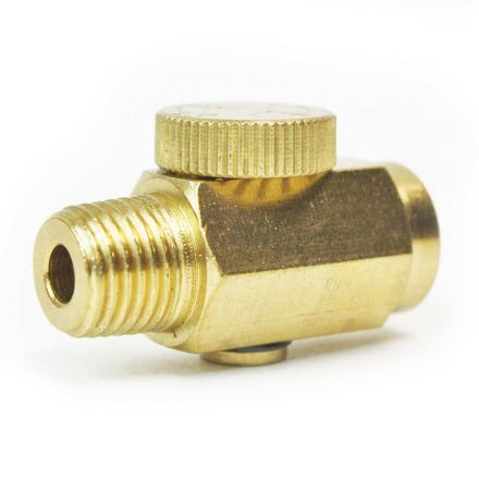 Interstate Pneumatics VR440 In-Line Bleed Valve 1/4 Inch MPT x 1/4 Inch FPT